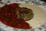 Тортино из баклажанов в двух соусах от Нино Грациано