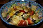 Салат из гигантской фасоли