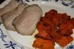 Свинина с тыквой