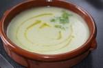 Суп-пюре из фенхеля с сельдереем