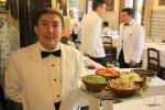 Мадрид. Ресторан Ботин. Так сервируют гаспачо