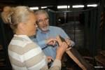 Срез пробковой коры определяет ее предназначение. Фабрика Amorim, Алентежу,Португалия
