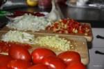 Овощи для фаршировки помидоров