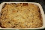 Рассыпчатый яблочный пирог готов