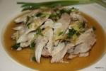 Курица под имбирно-соевым соусом