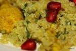 Теплый салат из киноа и цветной капусты