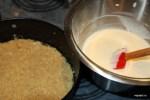 Основа для торта и сырная масса