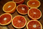 Красные апельсины для флана
