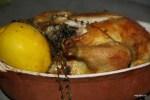 Курица, фаршированная вареным лимоном