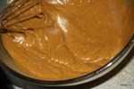 Тесто для имбирного пирога до добавления сметаны
