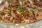 Кальмары, фаршированные кедровыми орешками