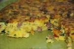 Фриттата из поленты