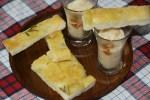 Паста из белой фасоли с кунжутным маслом и фоккачей