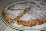 Лионский яблочный пирог с пылу с жару