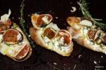 Тортины с инжиром, козьим сыром и медом от Алена Дюкасса