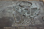 Карта Старого города на набережной Хихона