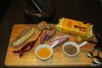 Ингредиенты для бульона лаксы