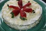 Торт из черемуховой муки со