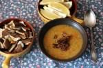 Пряный кремовый суп из чечевицы