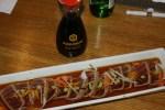 Спинка тунца в цитрусово-соевом соусе
