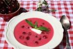 Венгерский вишневый суп