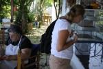 Хозяйка легендарной таверны Лукас в деревне Манолатес