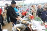 Еда в парке Горького