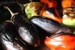Баклажаны и сладкие перцы после запекания