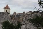 Вид из окна резиновой квартиры: развалины монастыря Кармо