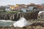 Рыбацкий городок Пениши в центральной Португалии