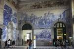 Интерьер вокзала Сан-Бенто в Порту