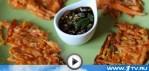 Корейские блинчики из тыквы (видео рецепт)