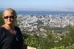 Вид на Кейптаун с подножия Столовой горы