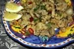 Кантонские кальмары в соли и перце