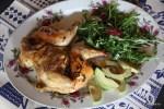 Цыплята с розмарином по-ирландски