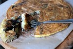 Тортилья с баклажаном