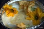 Цветки тыквы должны стать частью суфле