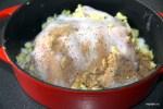 Добавляем к курице ингредиенты