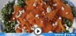 Трехцветный салат из моркови со щавелем (видео-рецепт)