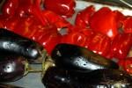 Баклажаны и сладкие перцы запекаем в духовке
