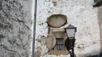 Раковина на фасаде говорит о том, что в этом доме принимали паломников, направлявшихся в Сантьяго-де-Компостела