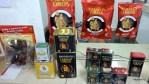 Несколько видов упаковки разных испанских паприк