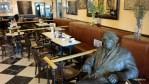 Одно место в кафе Новелти всегда занято. Саламанка