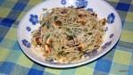 Спагетти с карамелиированным лимоном