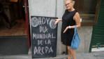 В Мадриде тоже отмечают Всемирный день арепы