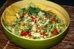 Куриный салат с начос