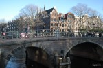 Типичный амстердамский пейзаж