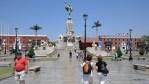 Памятник Свободе на Plaza de Armas в Трузильо