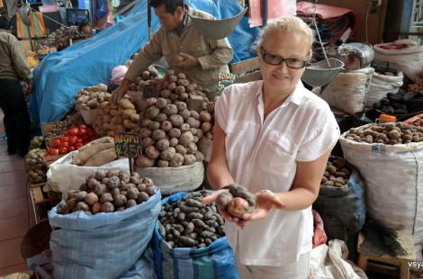 На рынке в Арекипе