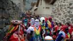 Маскарадное шествие в Ольянтайтамбо
